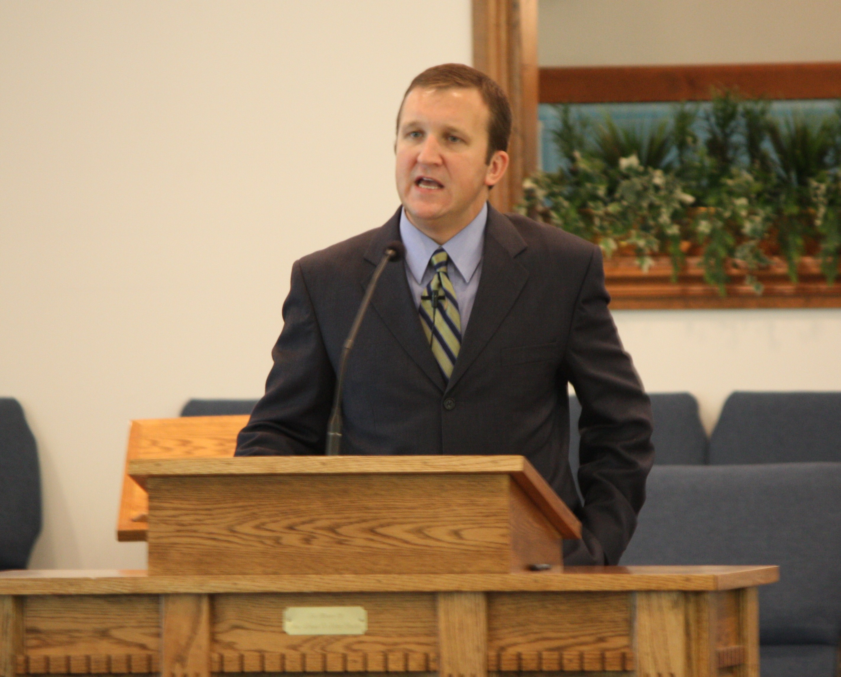 Bro. Terry Trivette is the pastor of the Sharon Heights Baptist Church in Birmingham, AL.