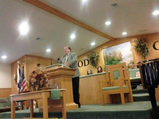 Bro. Kevin Munson Pastor of Landmark Baptist Baptist Church Albermarle NC
